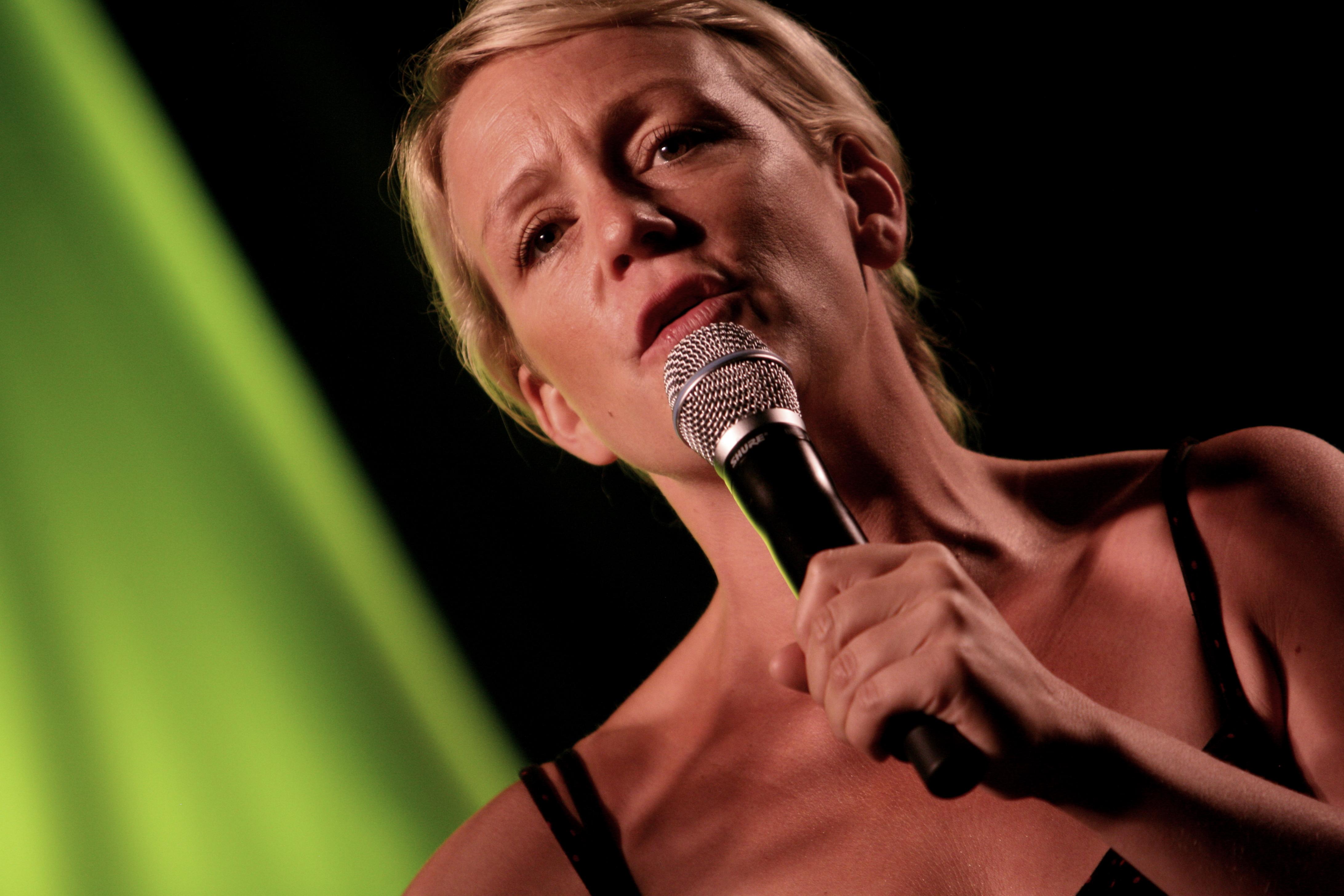 Årets kvinnliga komiker Karin Adelsköld