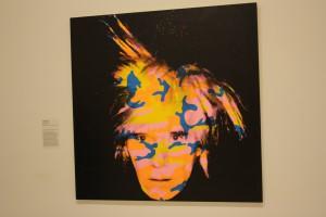 Pa National Gallery of Victoria hängde vi med Warhol, eller han hängde där i alla fall.