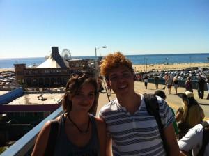 Jag och Lorina (från Tyskland).
