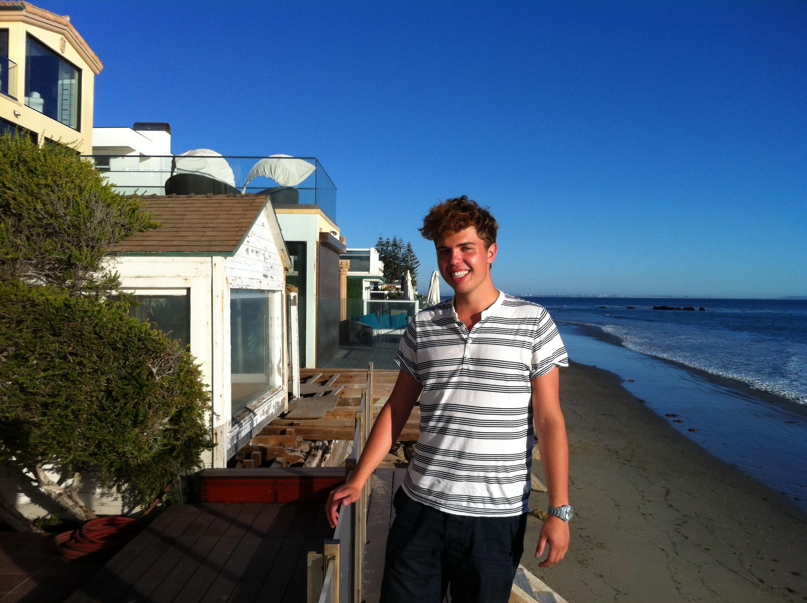 Vilket underbart ställe. Tydligen så ska Tom Hanks ha ett sommarhus på denna strand. Så avundsjuk.