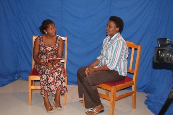 Faraja intervjuar Stella.