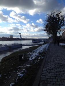 Donaus strand.