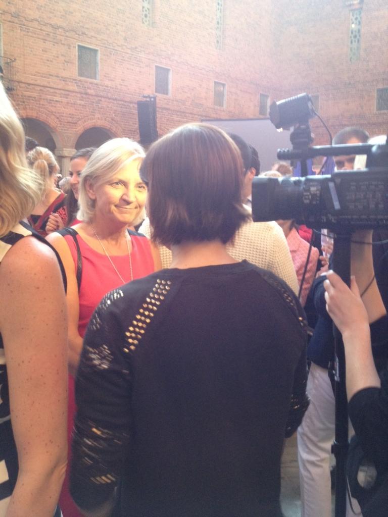 Nikki intervjuar Marie Ehrling, styrelseordförande i Telia Sonera.