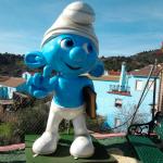 Júzcar – världens enda Smurfby