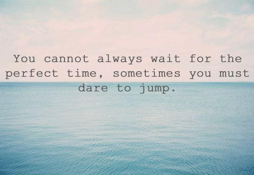 Om att våga ta steget och förverkliga sina drömmar