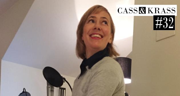 Cass och Krass möter manusförfattaren och TV-geniet Ida Kjellin