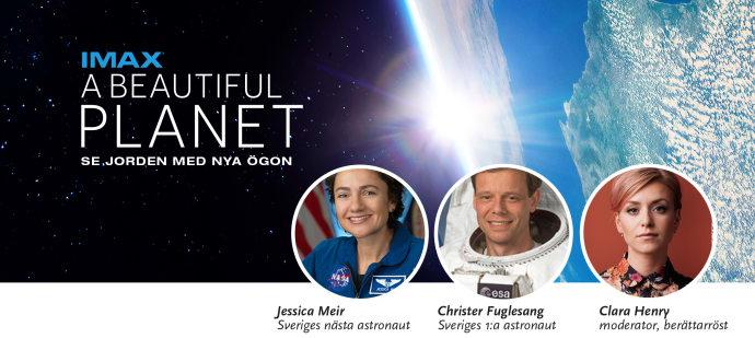 Premiär för A Beautiful Planet på Cosmonova